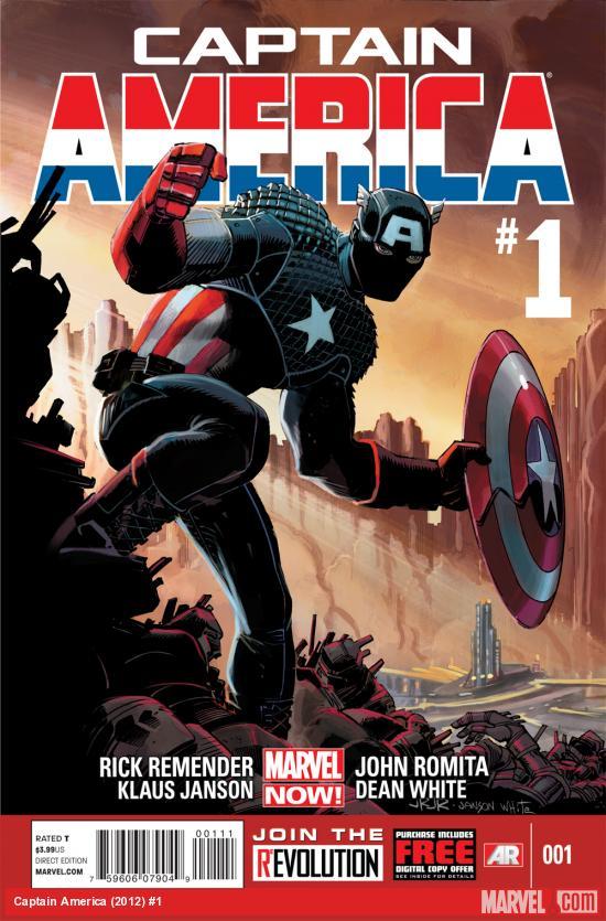 Chopping Block Review: Captain America #1