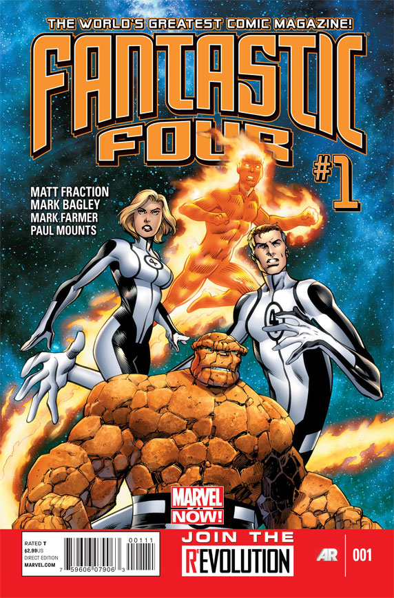 Chopping Block Review: Fantastic Four #1