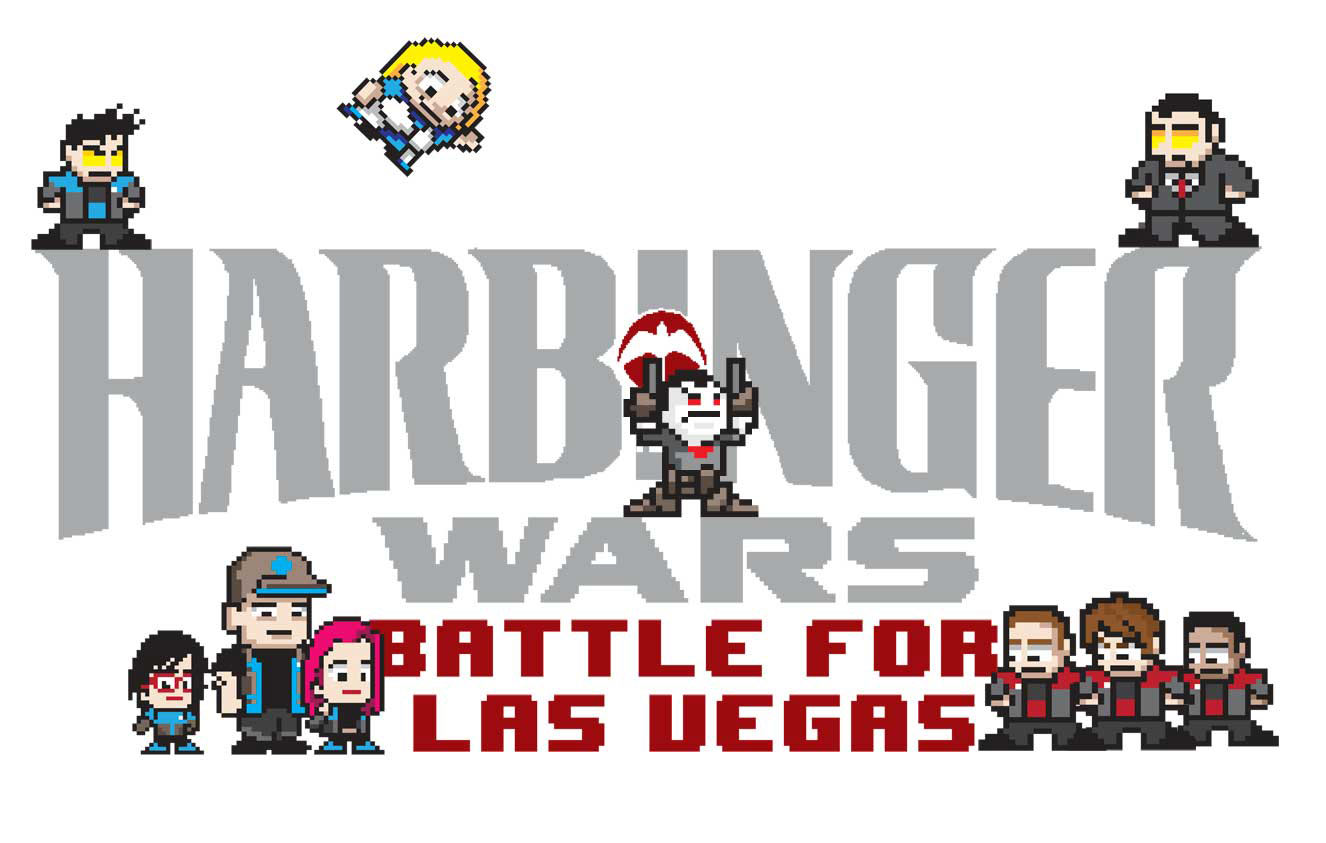 Valiant Entertainment Goes Old School with 8-Bit Video Game Homage Covers and New 8 Bit Game