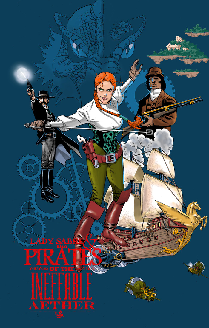 Let's Kickstart This! Rucka and Burchett's Lady Sabre & The Pirates of the Ineffable Aether