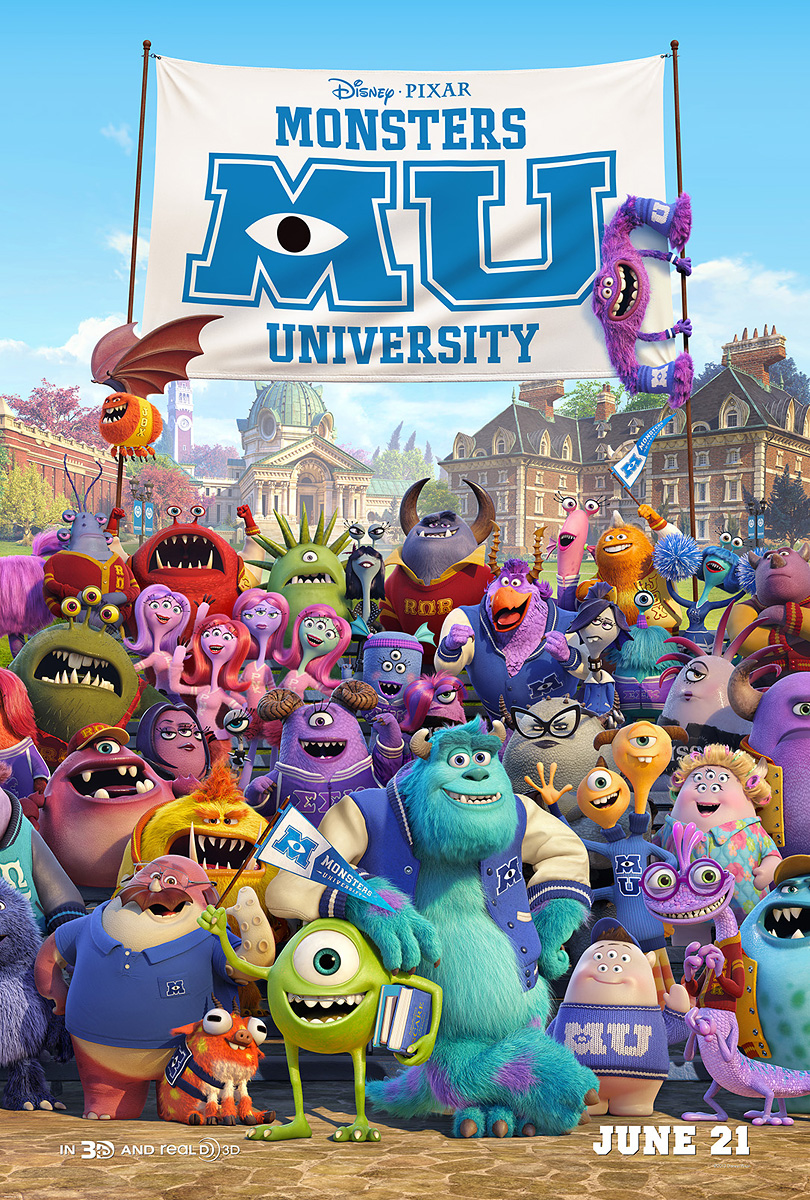Pastrami Flick Review: Monsters University