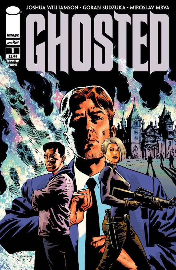 Image Comics/ Skybound Ghosted #1 Sells Out, Second Print Coming