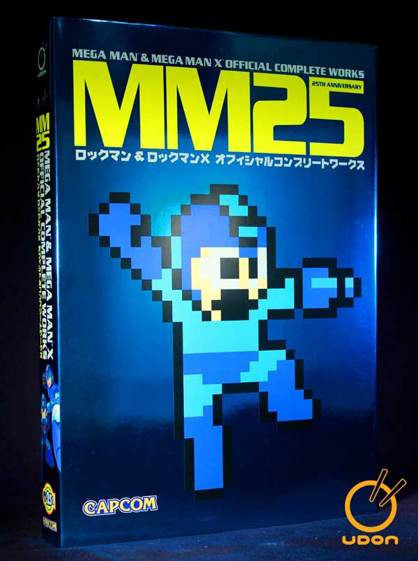 UDON Celebrates With The Comic-Con Debut Art Book MM25: Mega Man & Mega Man X Official Complete Works