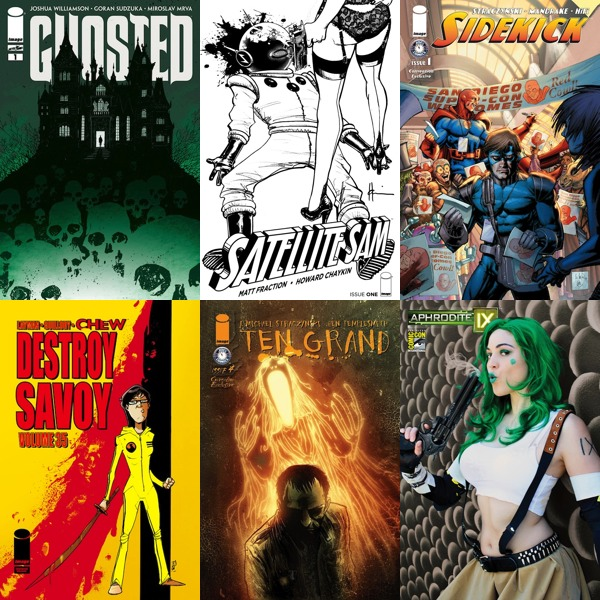 IMAGE COMICS OFFERS EXCLUSIVE AND VARIANT EDITIONS AT COMIC-CON INTERNATIONAL