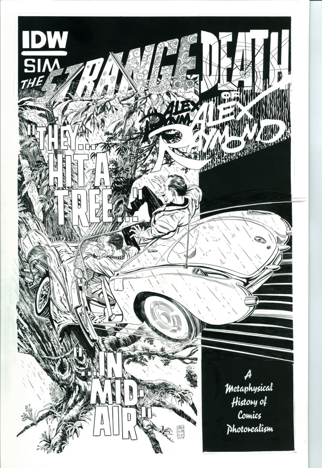 Something Strange From Dave Sim and IDW!