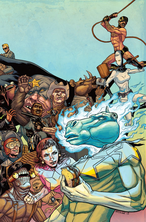 God Hates Astronauts Touches Down This October From Image Comics