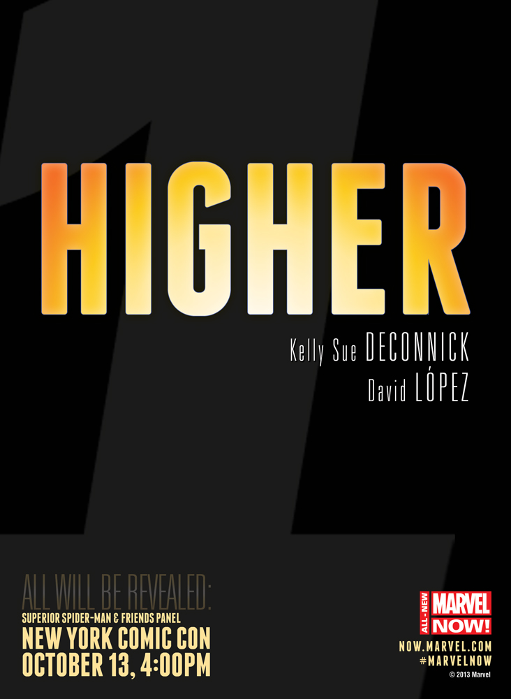 Marvel Now! Teasers-Countdown to NYCC-HIGHER