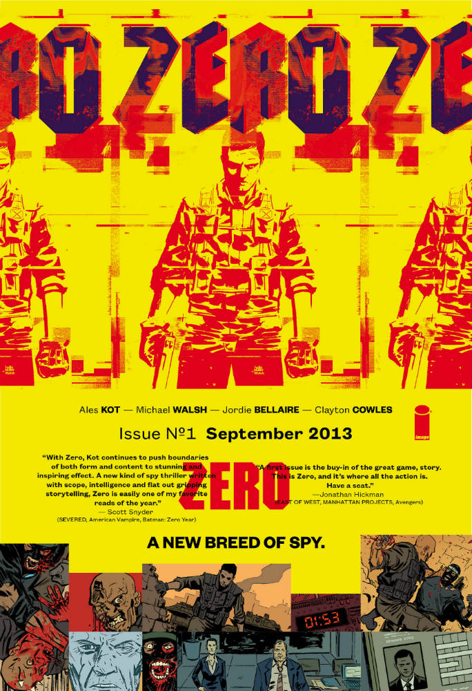 ZERO – A New Breed of Spy Is Coming From Image Comics