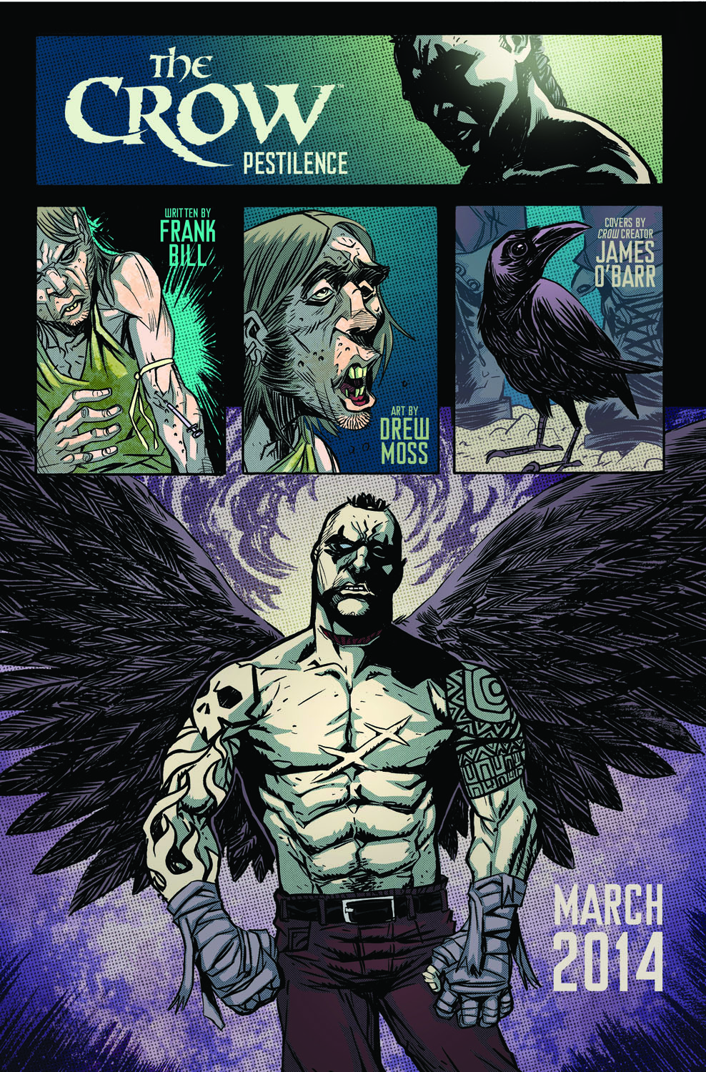 The Crow Comic Book Resurrected Next Year