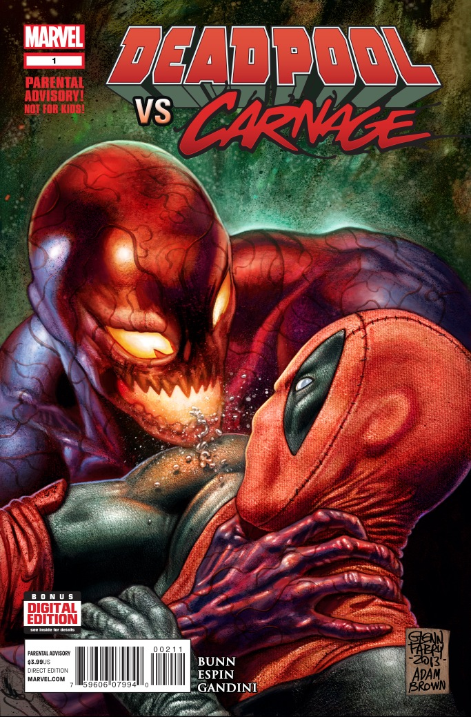 Chaos Unleashed in DEADPOOL VS. CARNAGE #1!
