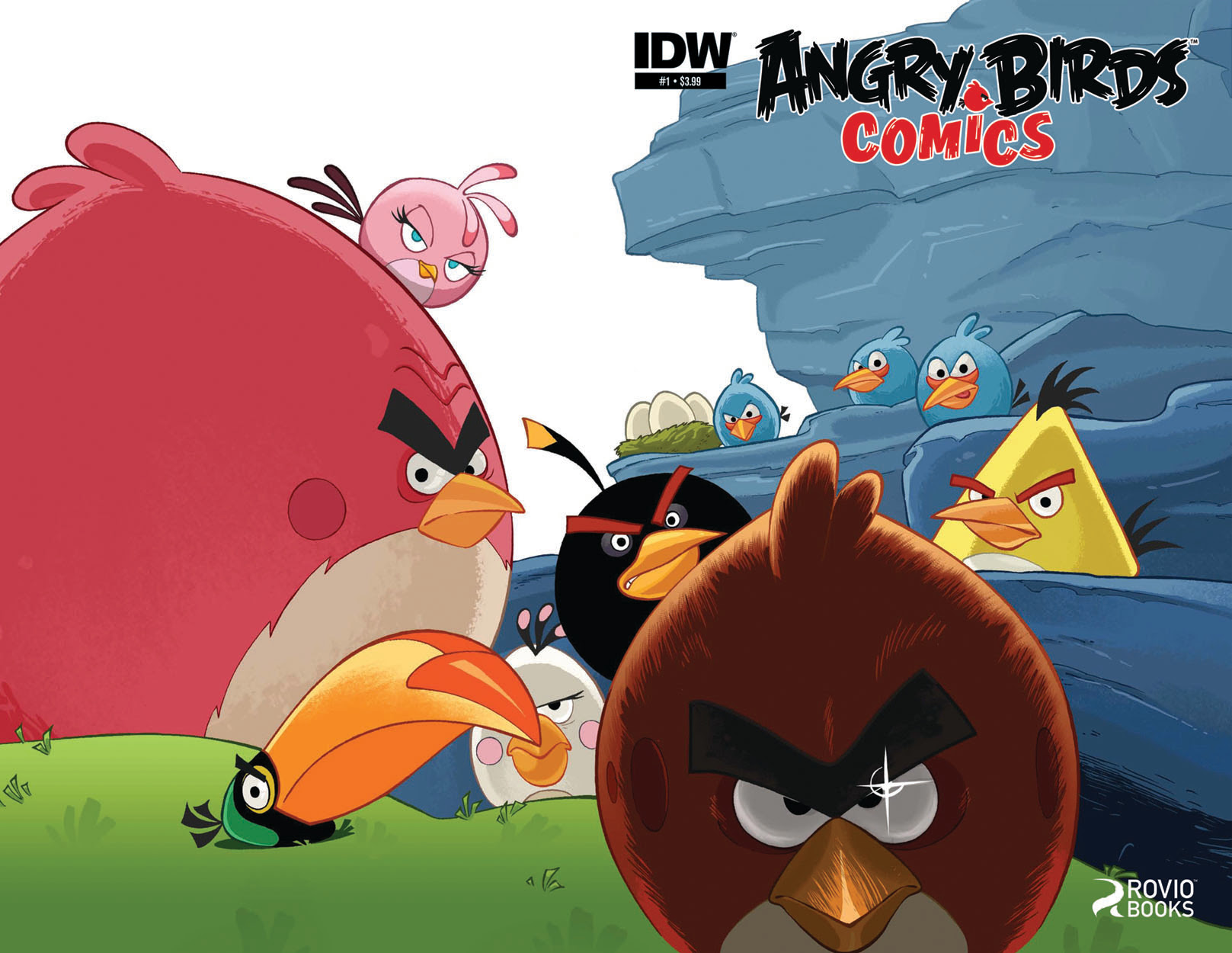 Angry Birds Launches From IDW