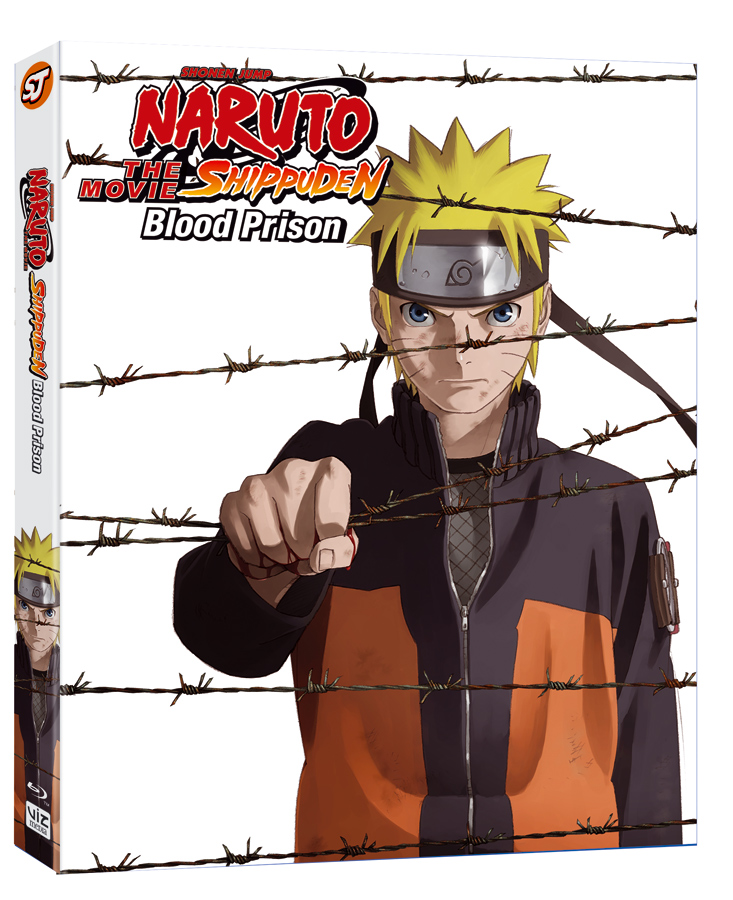 VIZ Media Releases Naruto Shippuden The Movie: Blood Prison on DVD and Blu-Ray