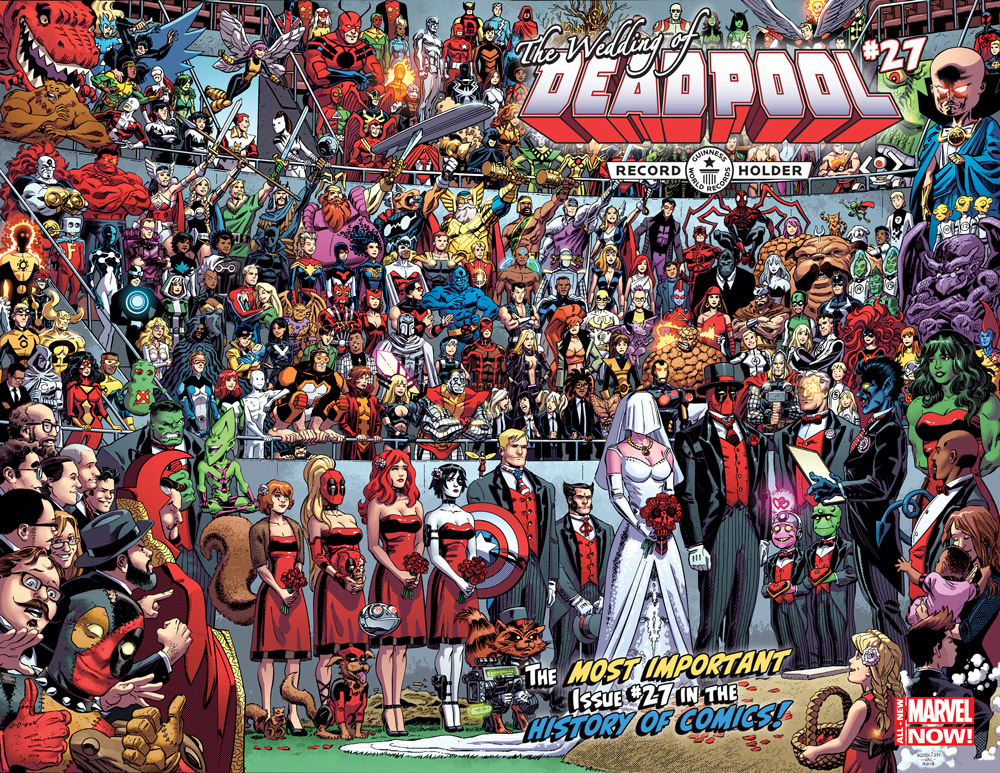Deadpool Gets Hitched and Sets New GUINNESS WORLD RECORDS™ Title