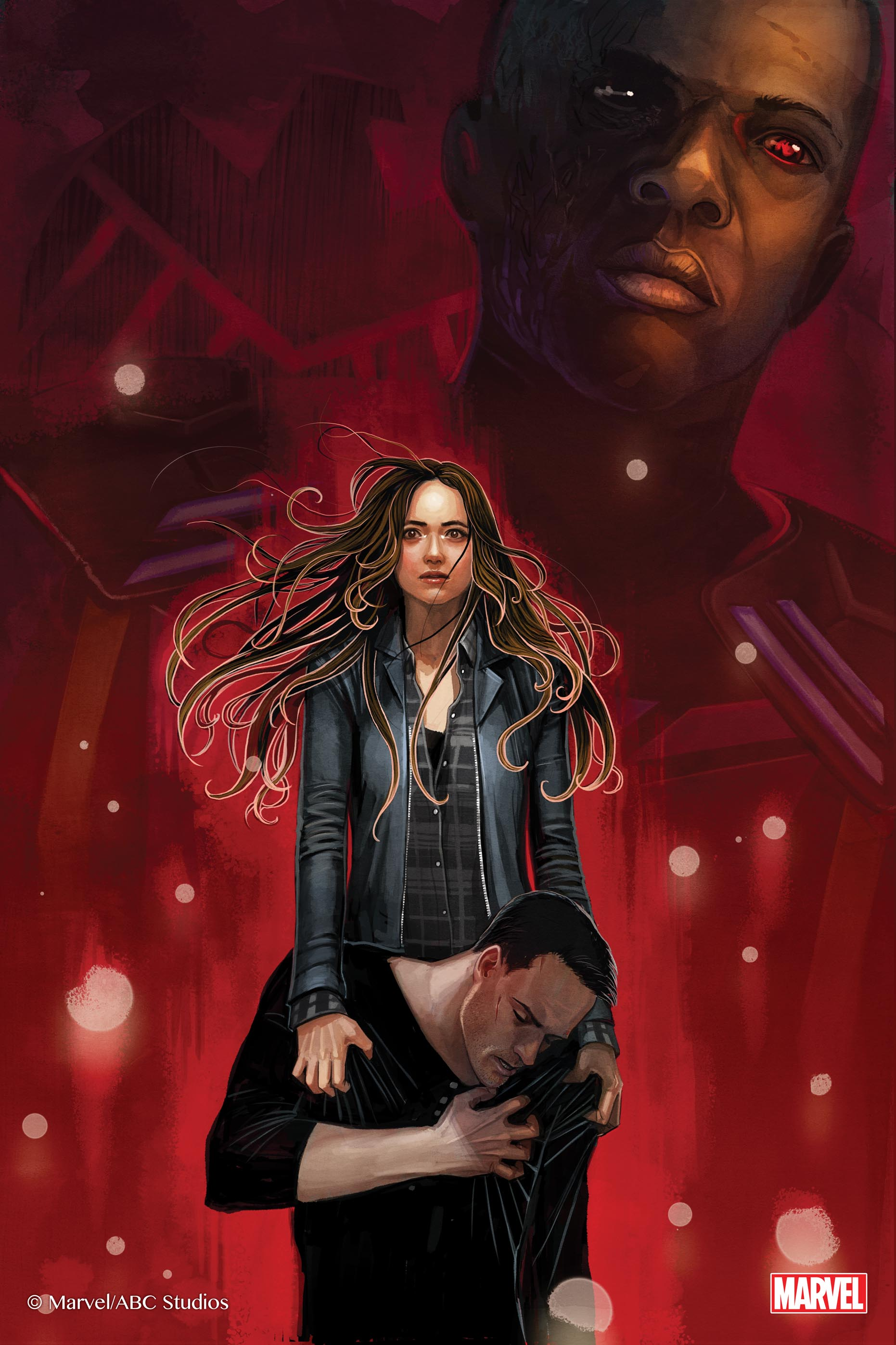 Stephanie Hans Joins Marvel's Agents of S.H.I.E.L.D. The Art of Level 7