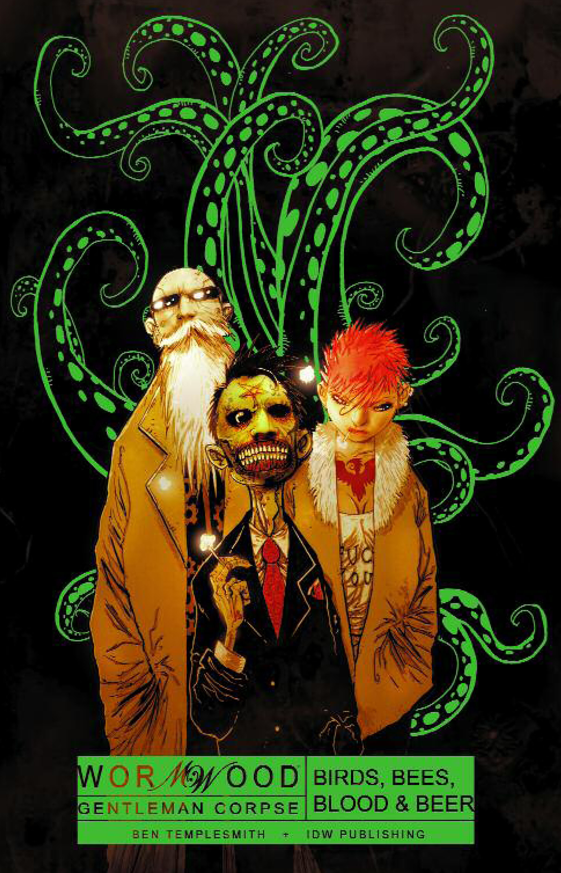 "IDW Entertainment, George Lopez, & David M. Stern Developing ""Wormwood""As An Animated Series"