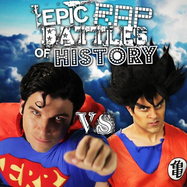 Epic Rap Battle of History: Superman Vs Goku