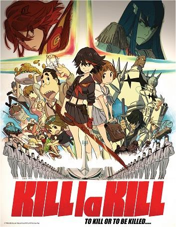 Kill la Kill Coming To DVD and Blu Ray From Aniplex of America