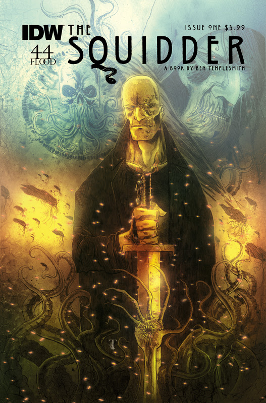 Ben Templesmith Returns To IDW With New Series: The Squidder is Coming!