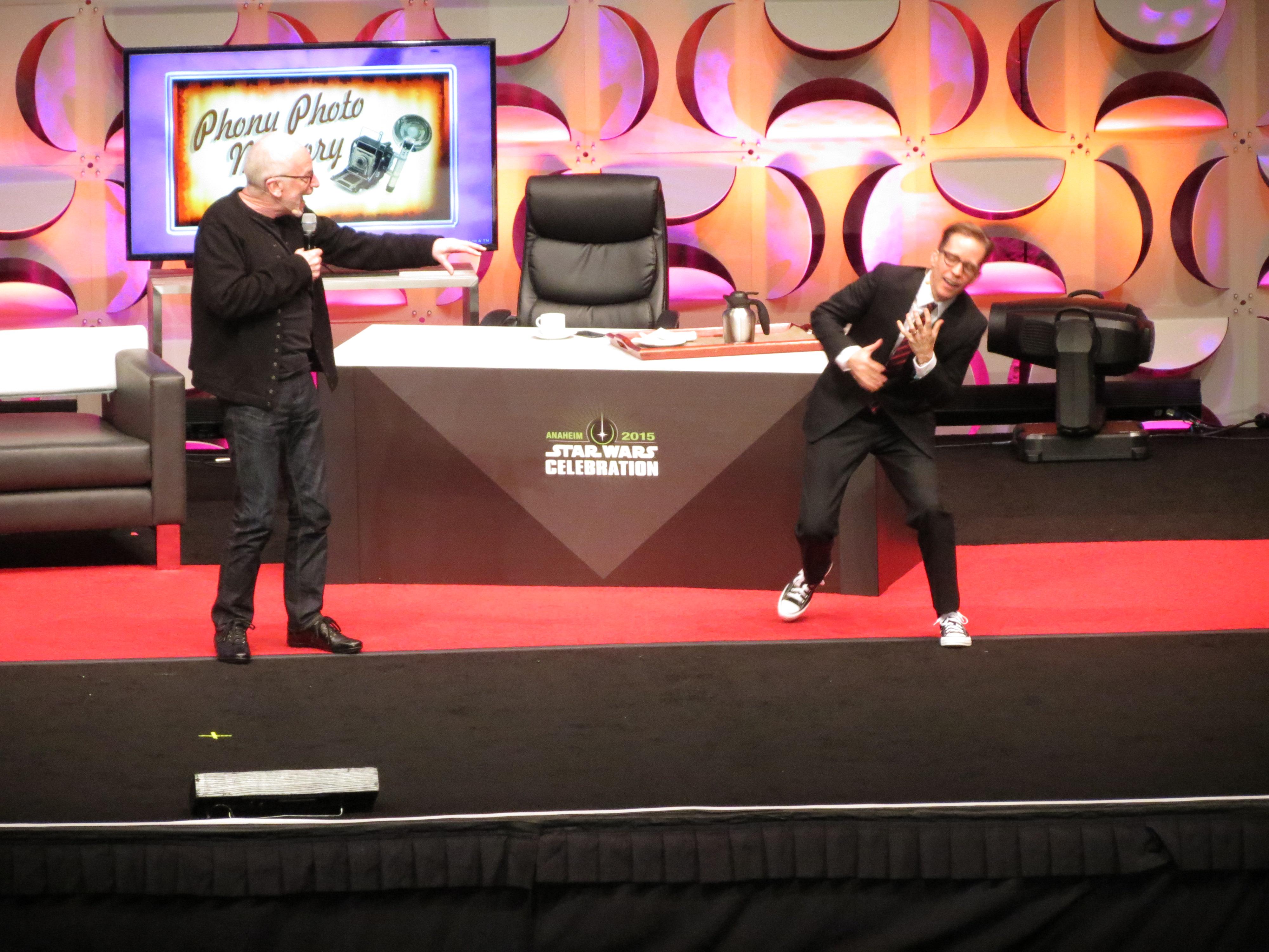 Ian Mcdiramid Live At Star Wars Celebration 2015!