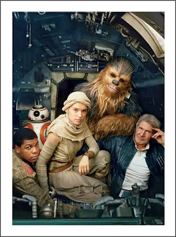 New Pictures Of Star Wars Episode 7 Characters!