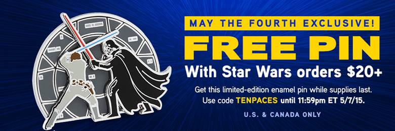 Think Geek Brings A Free Star Wars Exclusive And Discounts For May 4th!