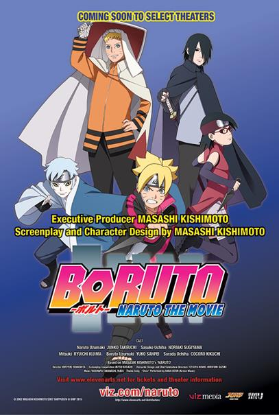 VIZ MEDIA & Eleven Arts Announce Canadian Theatrical Dates For BORUTO: NARUTO THE MOVIE