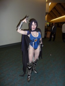 Raven (SDCC 2015: San Diego Comic Con 2015 Cosplay- Cowboy Bebop, King of Fighters, Harley Quinns and More)