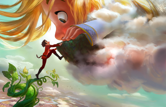 D23 Expo 2015: New Animated Film Gigantic Takes Root!