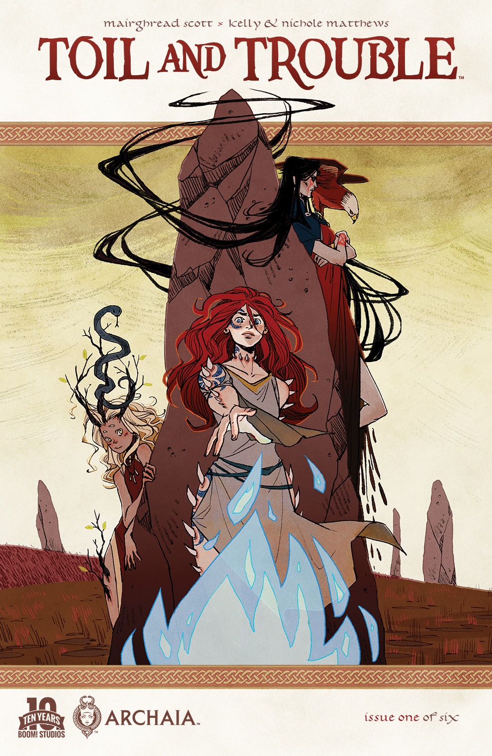 Toil and Trouble #1 Review: We Three Queens and a Macbeth