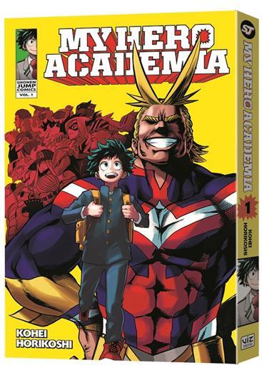 VIZ Media Debuts New Brainiac Superhero Manga Series MY HERO ACADEMIA