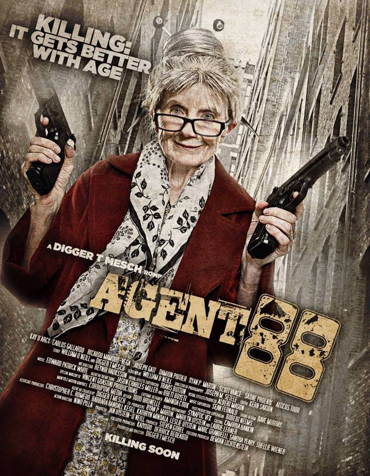 The World's First Geriatric Assassin is Back: Agent 88 is Now on Youtube!