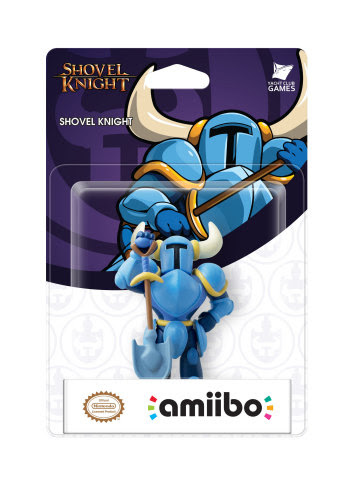 Shovel Knight Gets His Own amiibo! First Indie Game with amiibo Compatibility