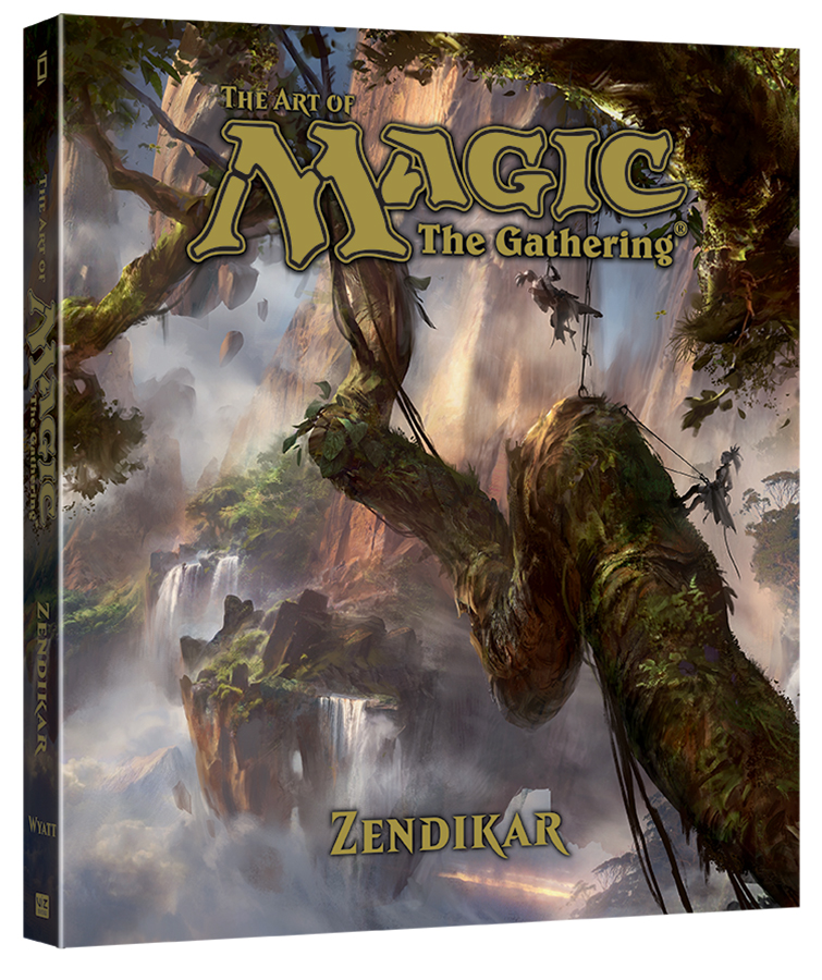 Wizards of the Coast and VIZ Media Announce Magic: The Gathering Art Book