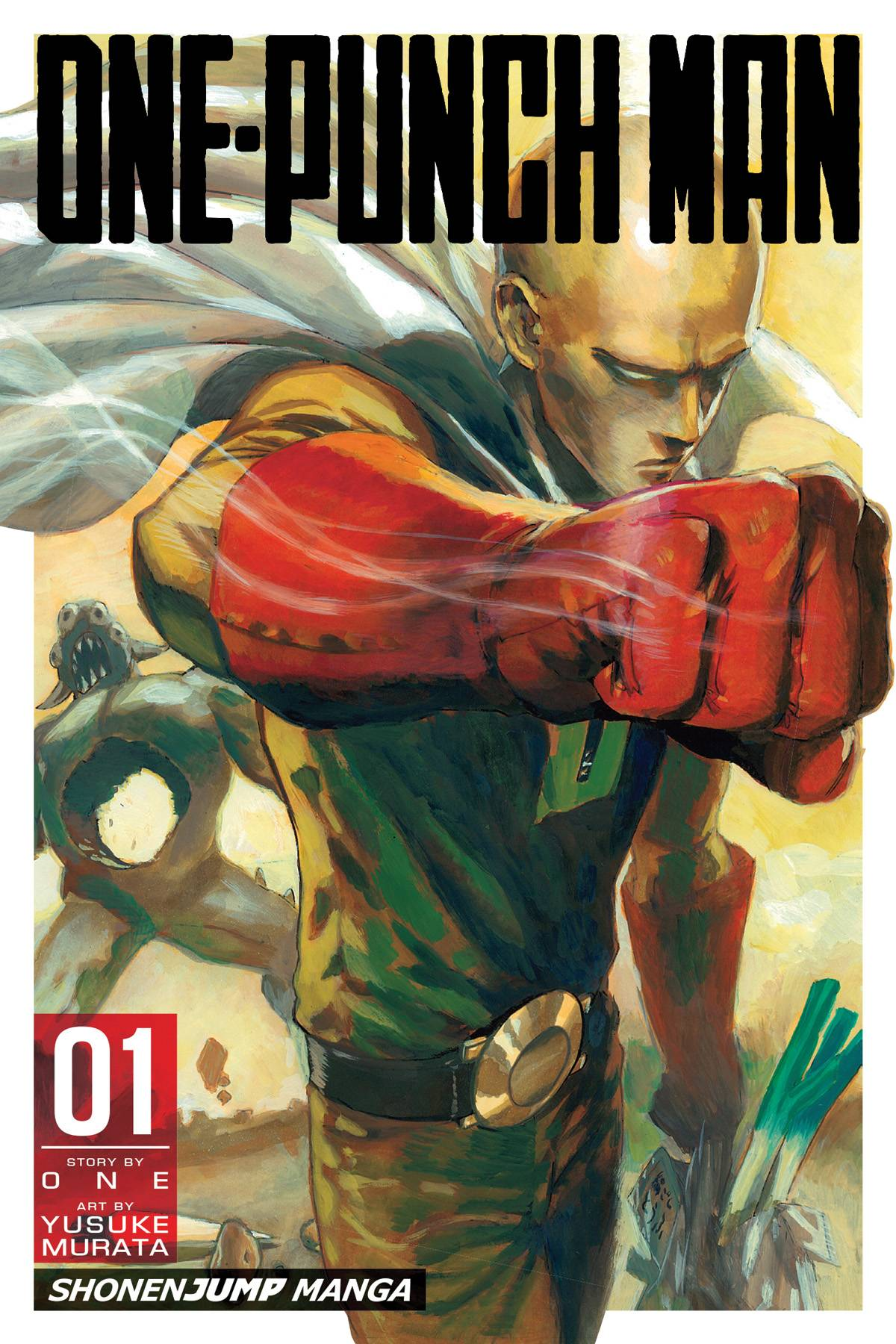 One-Punch Man Volume 1 Review- All I Need is One Punch