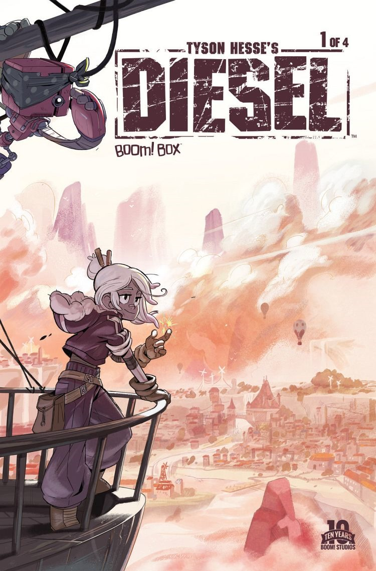 Tyson Hesse's Diesel #1 Review: The Young and the Restless