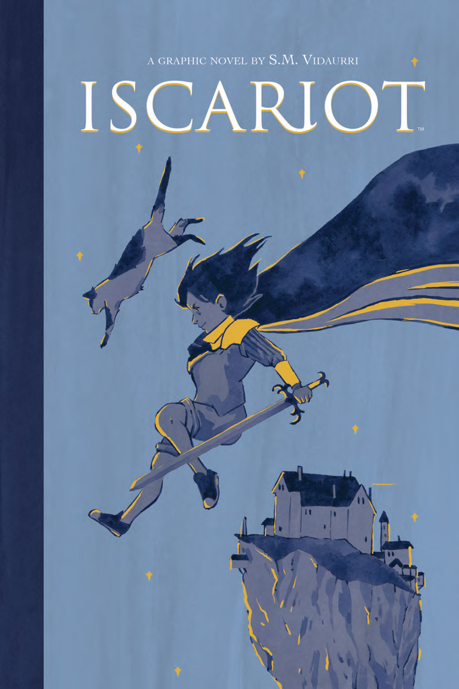True Magic Comes at a Heavy Cost in S.M. Vidaurri's Archaia Original Graphic Novel, 'Iscariot'