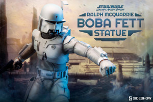 200372_press01 (Sideshow Collectibles Presents the Ralph McQuarrie Boba Fett Concept Statue- Pre-Order Now)