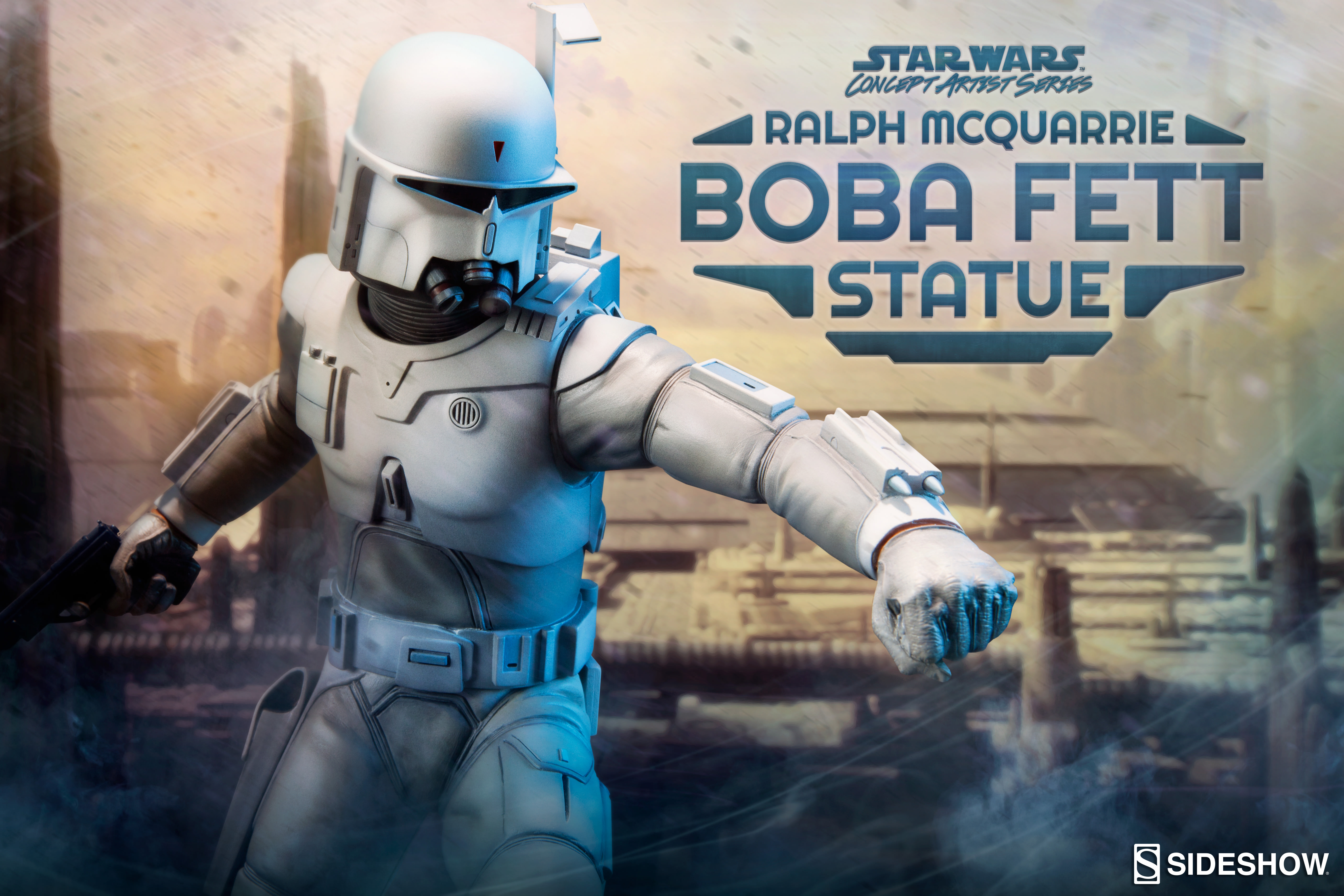 Sideshow Collectibles Presents the Ralph McQuarrie Boba Fett Concept Statue- Pre-Order Now