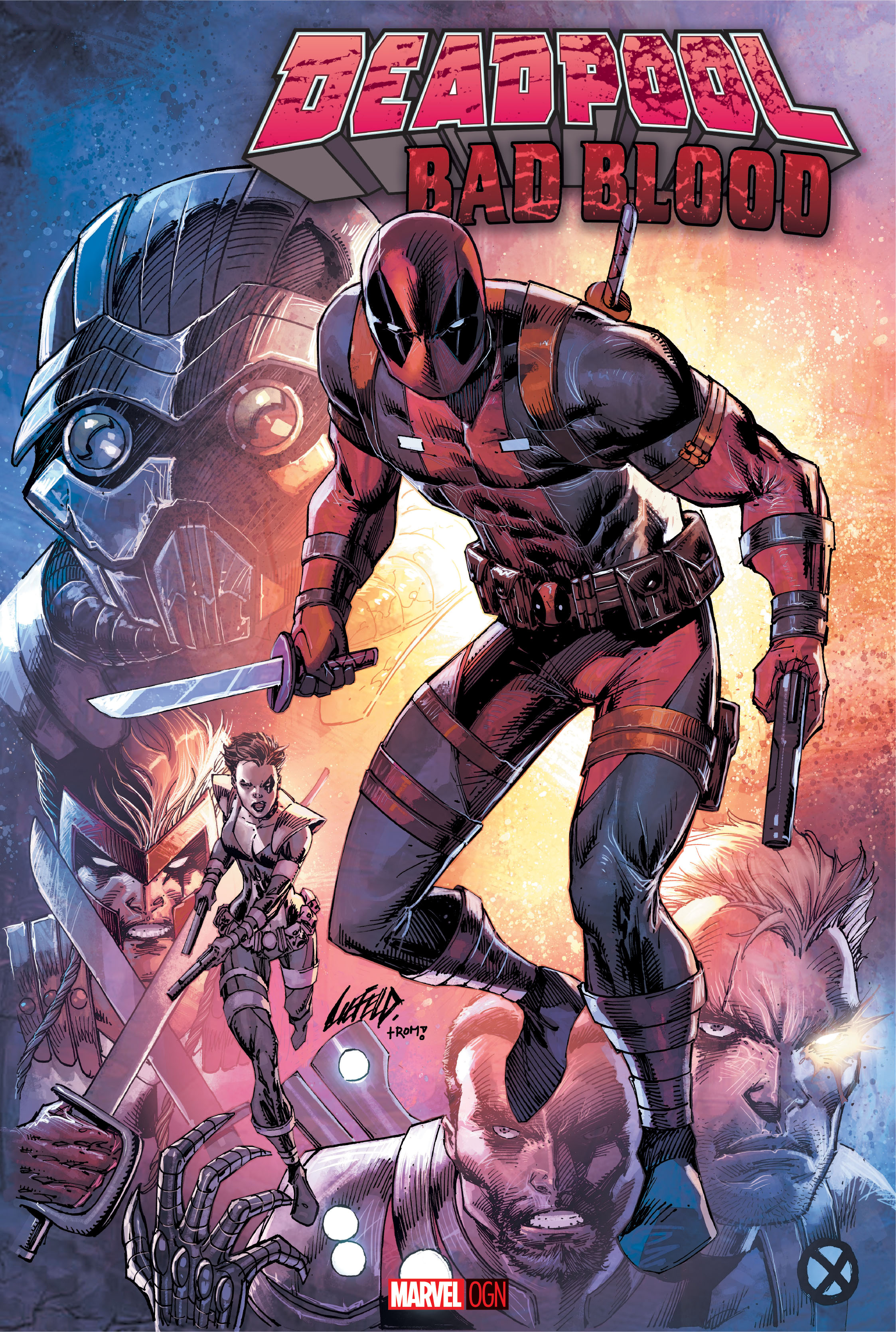 Deadpool Creator Rob Liefeld Returns to the Merc with a Mouth in 2016 for Marvel's Deadpool: Bad Blood OGN