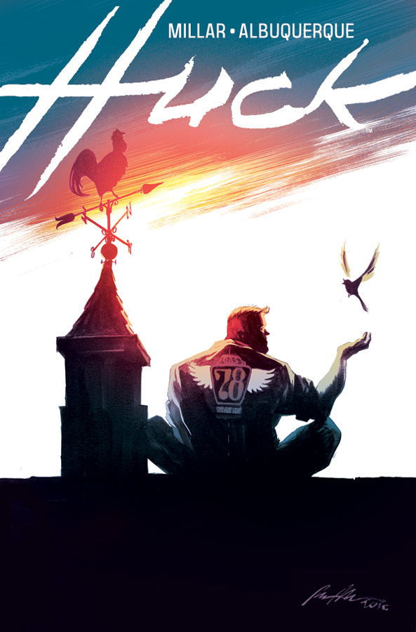 Huck #1 Review- What Makes a Man Super?
