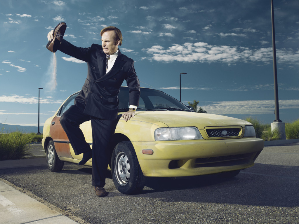 Bob Odenkirk as Saul Goodman - Photo Credit: Ben Leuner/AMC