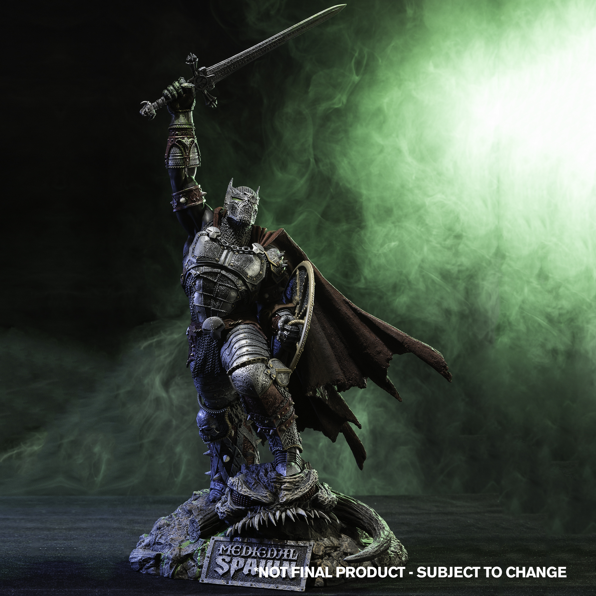 McFarlane Toys Releases Medieval Spawn Resin Statue