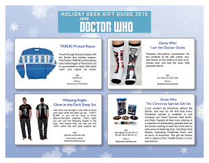 image004 (BBC Worldwide North America Presents the Holiday Gift Guide for Doctor Who and Sherlock)