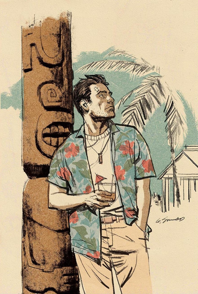 Let's Kickstart This! The Great Big Hawaiian Dick 100 Page Hardcover Graphic Novel