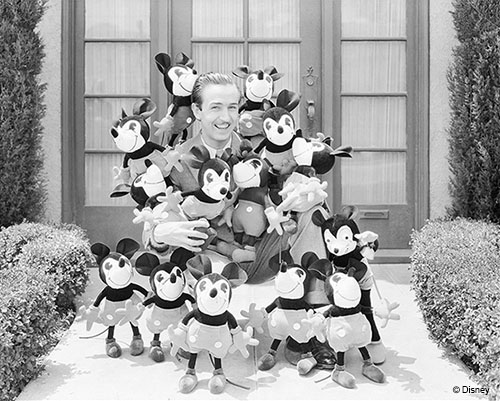 Classic Images of Walt Disney Now Available Through Photographs from The Walt Disney Archives