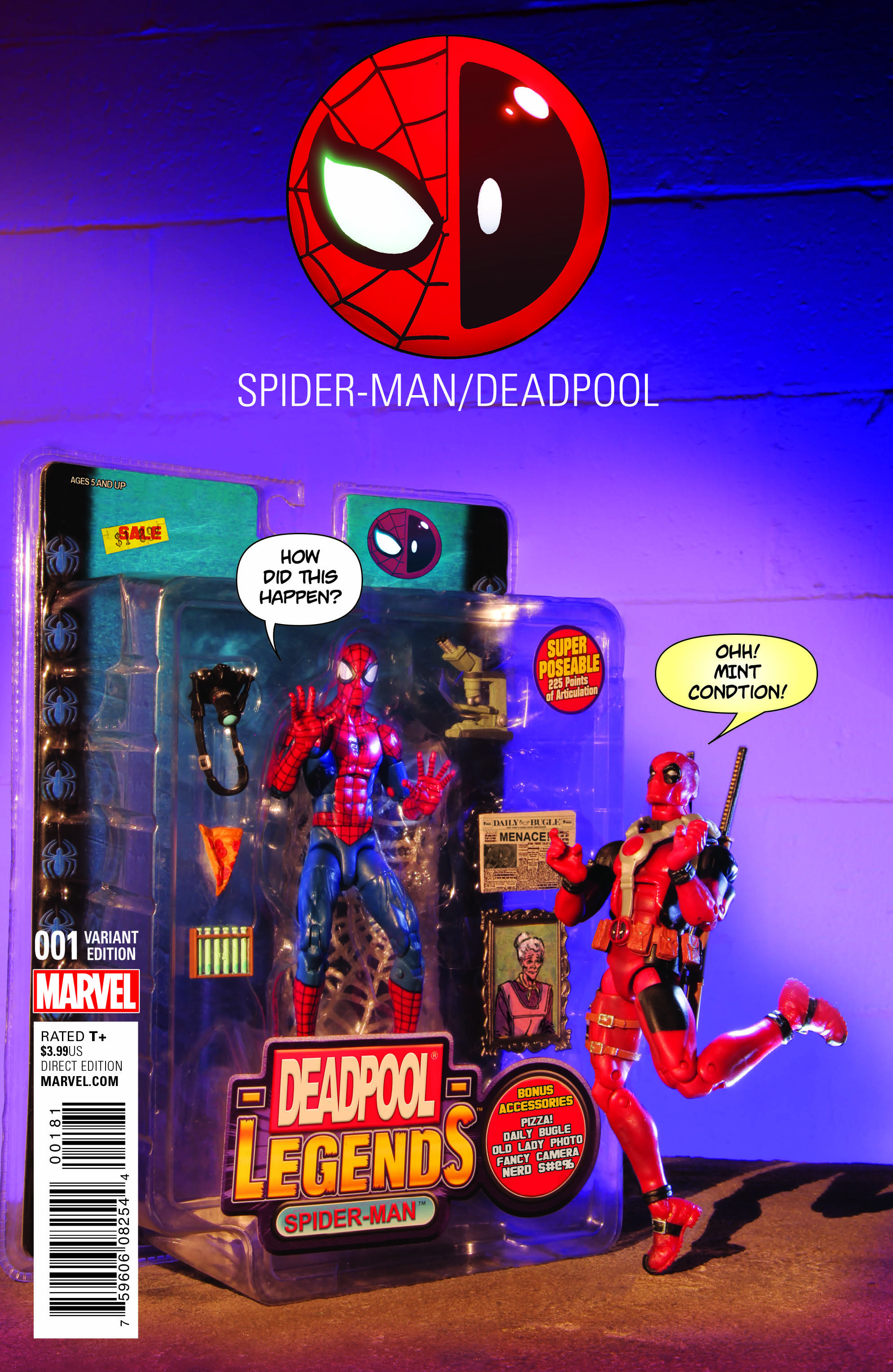 The New Dynamic Duo? Check Out a Look at Spider-Man/Deadpool #1