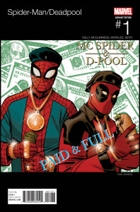 Spider-Man_Deadpool_1_Johnson_Hip-Hop_Variant (The New Dynamic Duo? Check Out a Look at Spider-Man/Deadpool #1)