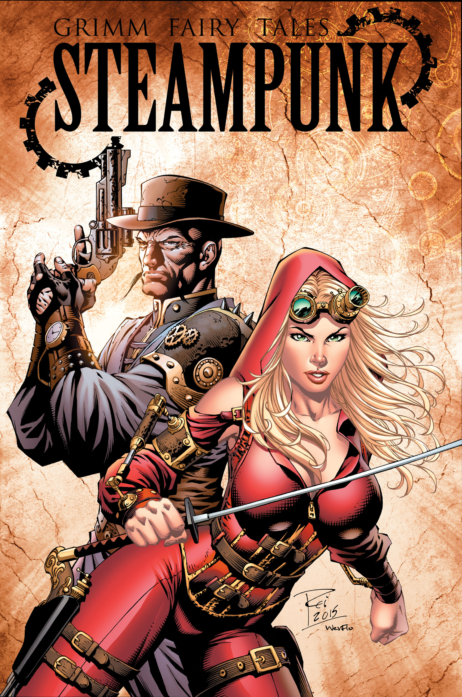 Grimm Fairy Tales: Steampunk—A New Alternate Reality Two-Part Mini-Series From Zenescope Entertainment
