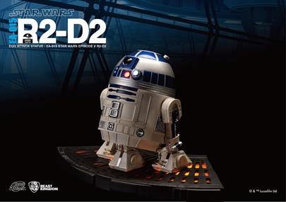Bluefin Expands Star Wars Egg Attack Statue Line with New Premium R2-D2 and C-3PO Statues by Beast Kingdom