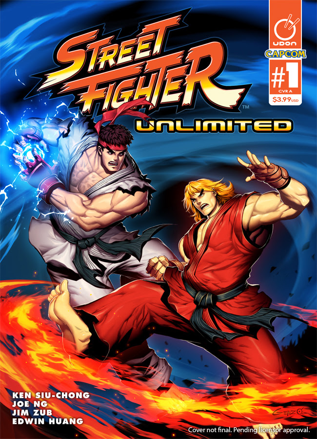 Round One, Fight! Udon Entertainment Releases Street Fighter Unlimited #1 on Wednesday